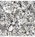Vintage garden spring seamless pattern vector image vector image