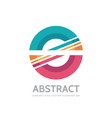 abstract - business logo concept vector image vector image