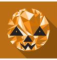 abstract cute halloween character Pumpkin vector image