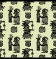 background seamless pattern in maya style vector image vector image