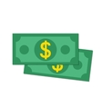 Flat money vector image vector image