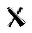 mascara icon vector image vector image