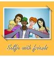 Selfie2 vector image