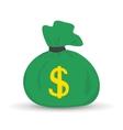 Flat money vector image