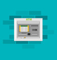 atm machine vector image