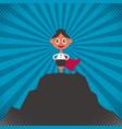businesswoman success vector image