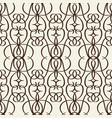 decorative lattice in victorian style vector image vector image
