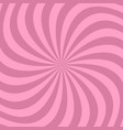 geometrical spiral background from swirling rays vector image vector image