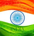 indian flag vector image