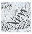 New Teacher Word Cloud Concept vector image vector image