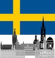 Sweden vector image