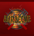 bbq party banners vector image vector image