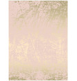chic blush pink gold trendy marble grunge texture vector image vector image