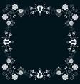 Folk Label Gray vector image vector image