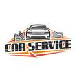 logo for car service vector image vector image