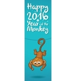 New Year vertical banners with cute cartoon vector image vector image