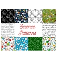 Science seamless pattern backgrounds