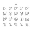 selection cursors ui pixel perfect well-crafted vector image