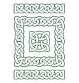 the set basic elements celtic ornament vector image