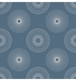 seamless Pattern with circular Elements vector image