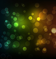 Abstract shiny lines with bokeh background vector image vector image
