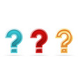 ask problem solution search question mark faq vector image