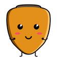 cute chontaduro emoticon vector image vector image