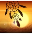 Dreamcatcher on the Wind vector image vector image