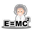 Einstein vector image