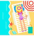 Holidays Umbrella vector image vector image