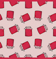 jam pots seamless pattern vector image