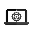laptop technology vector image
