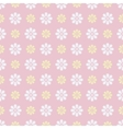 Nice seamless pattern tiling Sweet pink white vector image vector image