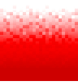 Red Pixel Background vector image vector image