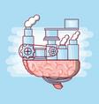 brain concept design vector image