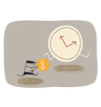 Buying Time vector image vector image