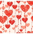 fantasy valentine background vector image vector image
