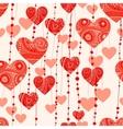 fantasy valentine background vector image