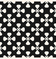 geometric pattern monochrome texture with smooth vector image vector image