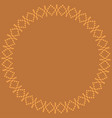 norwegian traditional ornament vector image vector image