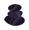 spa stones symbol vector image vector image
