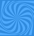 spiral background from twisted rays vector image vector image