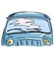 windscreen vector image
