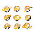 Basketball Logo Icons