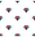 diamond pattern seamless background vector image vector image