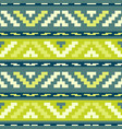geen stripped tribal geometric pattern vector image vector image