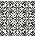 Hipster pixel seamless vector image vector image