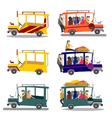 Philippine jeepney vector image