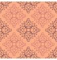 Seamless monogram background vector image vector image