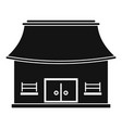 vietnam house icon simple style vector image